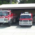 Foster Fire Brigade trucks