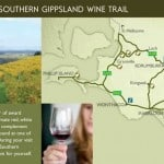 Southern Gippsland Wine Trail map