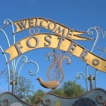 Welcome to Foster sign