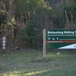 Brataualung walking track sign