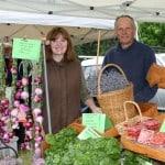 Organic vegetables Foster Farmers Market