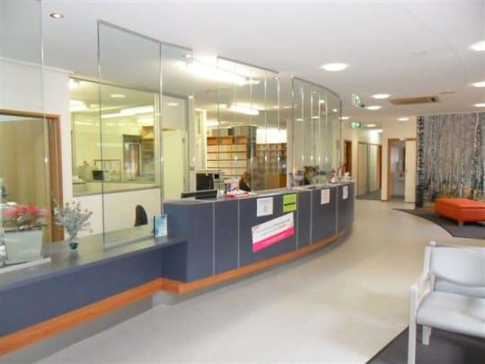 Foster Medical Centre front desk