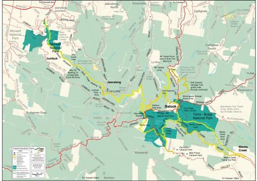 Grand Strzelecki Track map