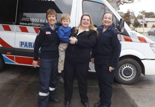 Ambulance thank you