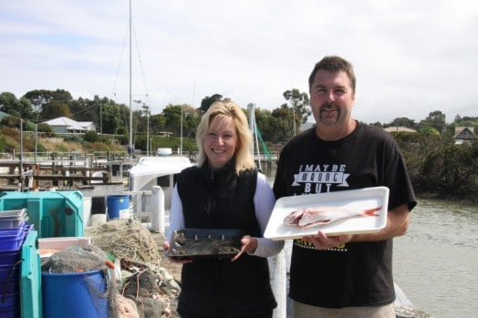 • Wayne and Linda Cripps hope to be in the commercial fishing industry for the long haul, as proprietors of Port Franklin Fresh Fish.