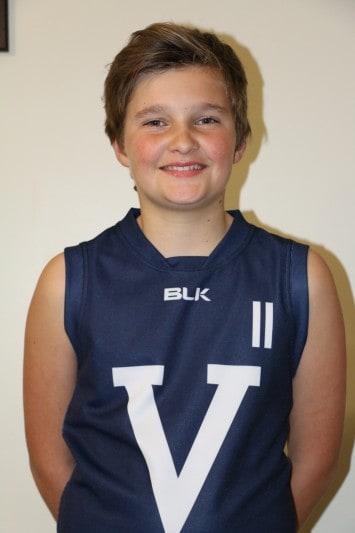 • U12 footy star Darcy Berryman.